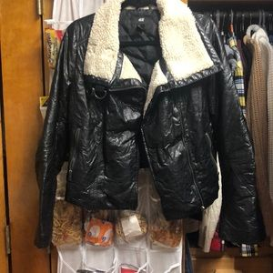 H&M's leather jacket